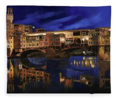 Notturno Fiorentino Fleece Blanket