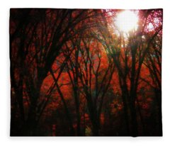 November Woods Fleece Blanket