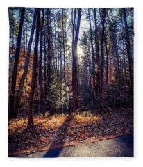 November Light Fleece Blanket