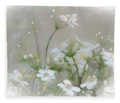 Nuage Blanc Fleece Blanket