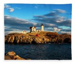 Nubble Light IIi Fleece Blanket