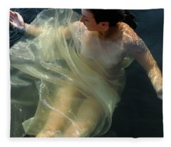 Embracing Pleasure Fleece Blanket