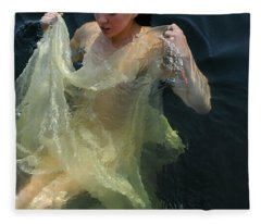 Celestial Motion Fleece Blanket