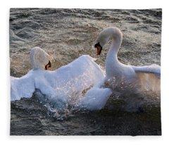 Nuptial Dance Fleece Blanket
