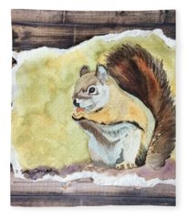 Nutty Buddy Fleece Blanket