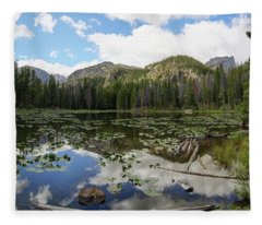 Nymph Lake 1 Fleece Blanket