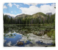 Nymph Lake 1 Fleece Blanket