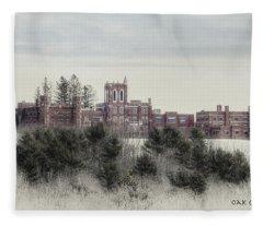 Oak Grove Coburn Fleece Blanket
