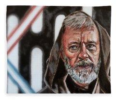 Obi-wan Kenobi's Last Stand Fleece Blanket