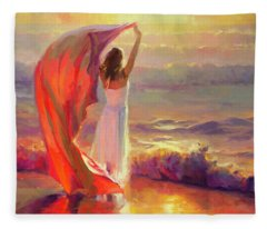 Woman Fleece Blankets