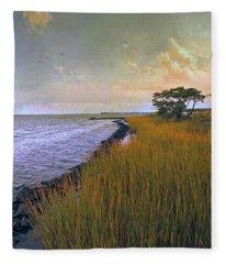Ocean City, Maryland Fleece Blanket