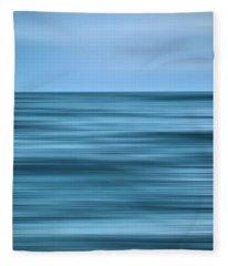 Ocean Color Scene Fleece Blanket