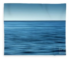 Ocean Color Scene II Fleece Blanket
