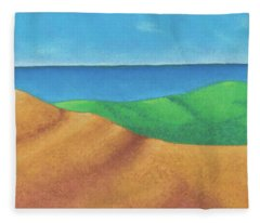 Ocean Daybreak Fleece Blanket