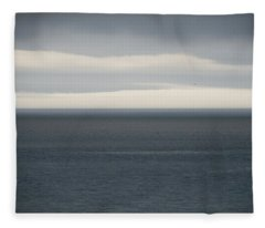 Ocean Horizon Fleece Blanket