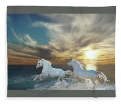 Ocean Play Fleece Blanket