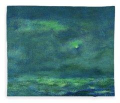 Ocean Sky 3 Fleece Blanket