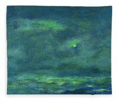 Ocean Sky 3 Fleece Blanket