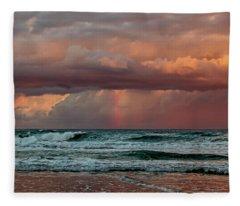 Ocean Spirit Fleece Blanket