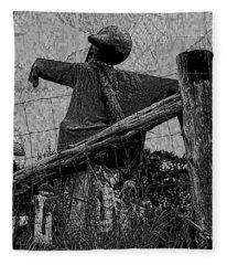 October Man 2 Fleece Blanket