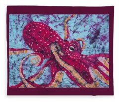 Octopus  Fleece Blanket