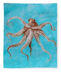 Octopus Fleece Blanket