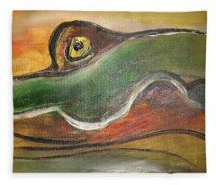Octopussy Fleece Blanket