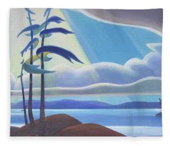 Ode To The North II Fleece Blanket