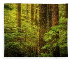 Of Elves And Faeries Fleece Blanket