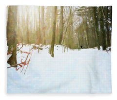 Off The Beaten Path Fleece Blanket