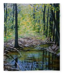 Off The Trail Fleece Blanket