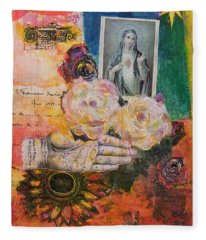 Offering For Mary Fleece Blanket