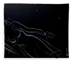 Oh What A Night Fleece Blanket