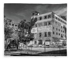Old Brewery Fleece Blanket