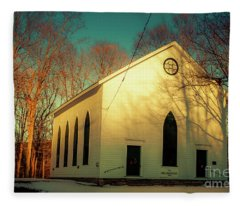 Old Clove Church Fleece Blanket