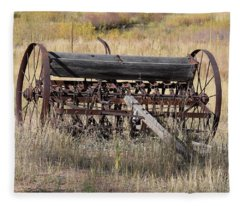 Farm Implament Westcliffe Co Fleece Blanket