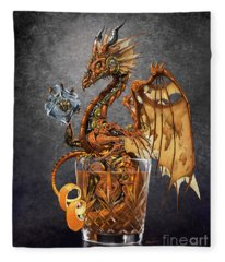 Old Fashioned Dragon Fleece Blanket