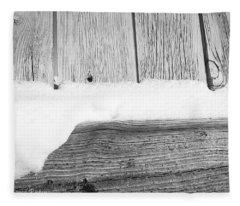 Old Fence Fleece Blanket