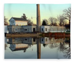 Old Mill Museum Fleece Blanket