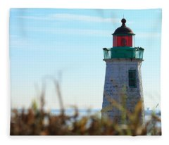 Old Point Comfort Lighthouse Fleece Blanket