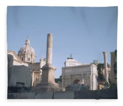 Old Rome Fleece Blanket