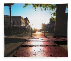 Old Sacramento Smiles- Fleece Blanket