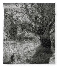 Old Willow Fleece Blanket