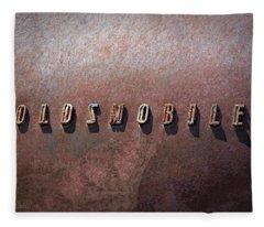 Oldsmobile Fleece Blanket