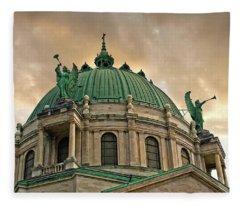 Olv Basilica #6791 Fleece Blanket