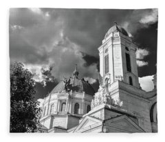 Olv Basilica #906 Fleece Blanket