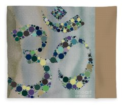 Om Symbol Fleece Blanket