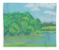 Omega Afternoon Fleece Blanket