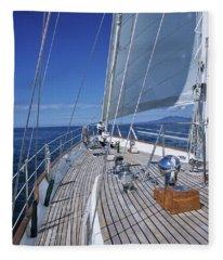 On Deck Off Mexico Fleece Blanket