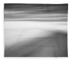On The Back Road X Fleece Blanket